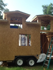 The Tiny House as of July 13, 2014